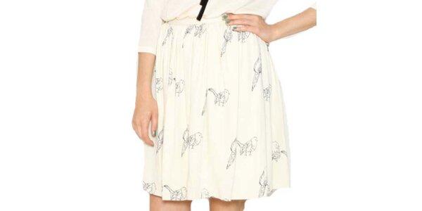 Dámská sukně s ptáčky Pepa Loves