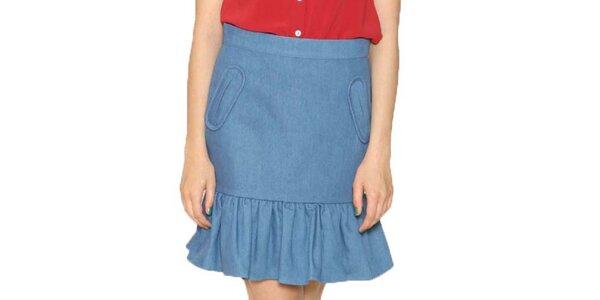 Dámská modrá sukně Pepa Loves
