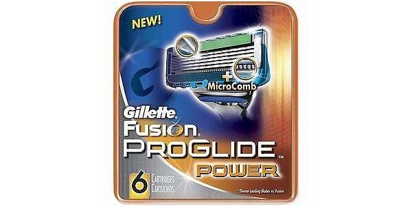 Gillette Fusion Proglide Power náhradní hlavice 6ks