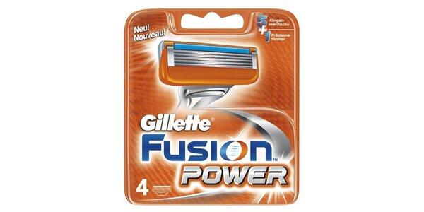 Gillette Fusion Power náhradní hlavice 4ks