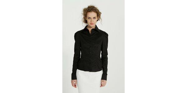 Dámská černá bavlněná košile Gene