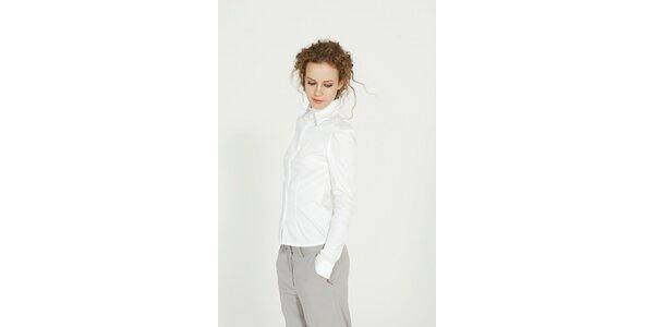 Dámská bílá bavlněná košile Gene
