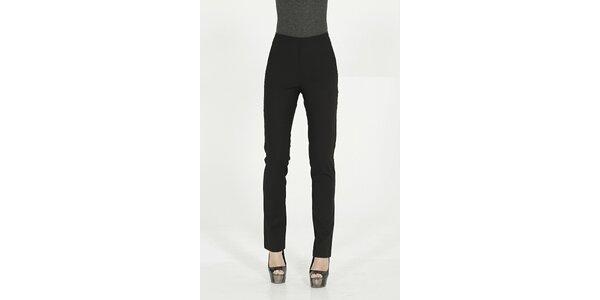 Dámské černé elegantní kalhoty Gene