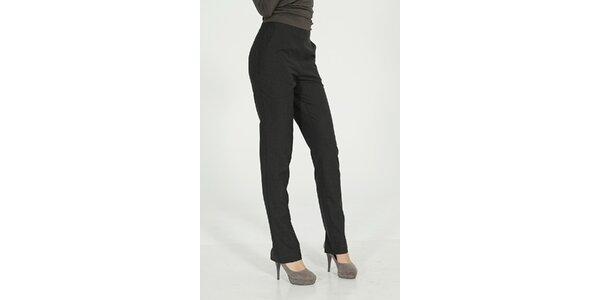 Dámské tmavě šedé elegantní kalhoty Gene