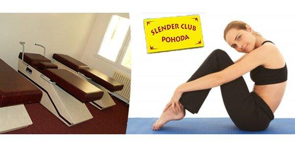 Cvičení na Slender stolech - permanentka na 10 vstupů