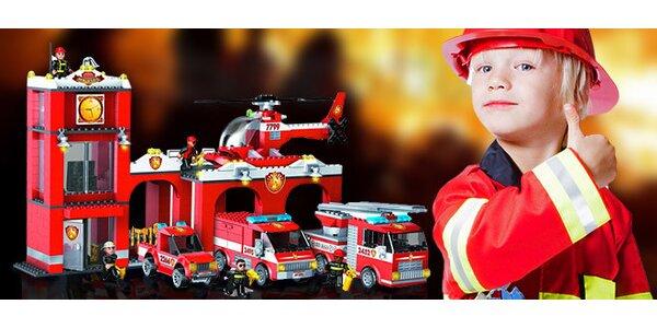 Hračka Megablocks pro malé hasiče