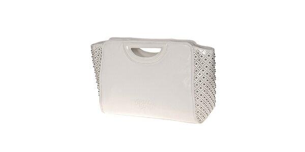 Dámská bílá kabelka s cvočky Versace Jeans