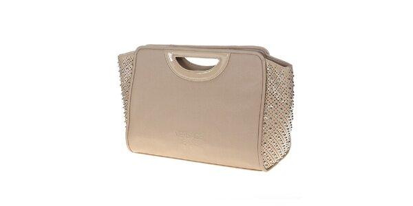 Dámská béžová kabelka s cvočky Versace Jeans