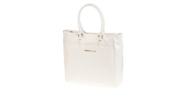Dámská bílá nákupní kabelka Versace Jeans
