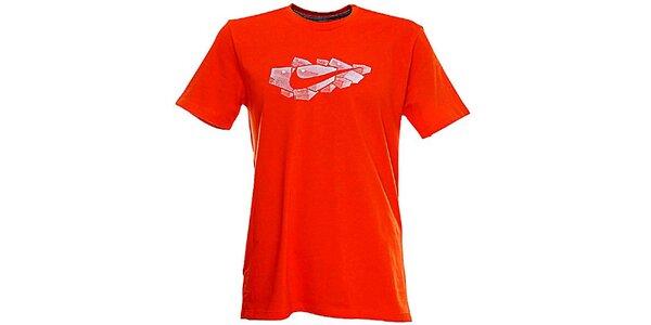 Pánské červené tričko Nike