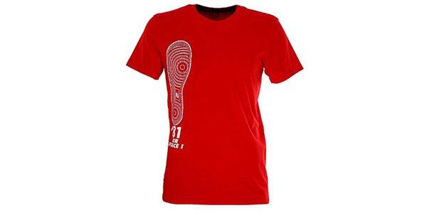 Pánské červené tričko s obrázkem Nike