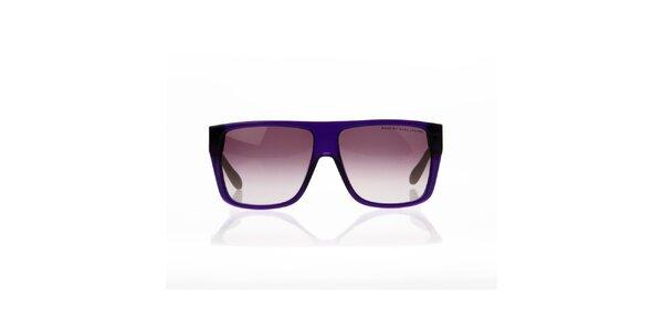 Unisex fialovo-zelené brýle s puntíky Marc by Marc Jacobs