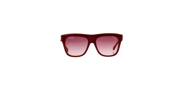 Unisex červené sluneční brýle Marc by Marc Jacobs