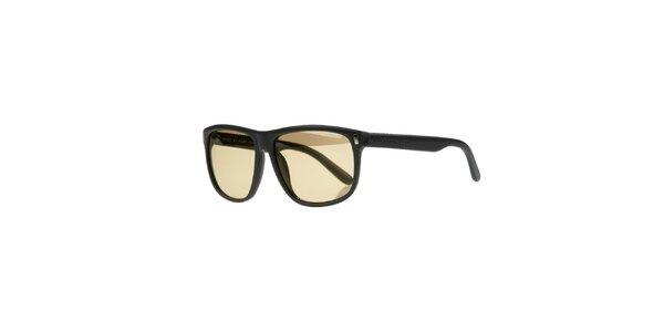 Unisex antracitové sluneční brýle Marc by Marc Jacobs