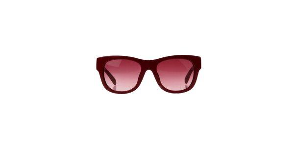 Dámské vínové sluneční brýle Marc by Marc Jacobs