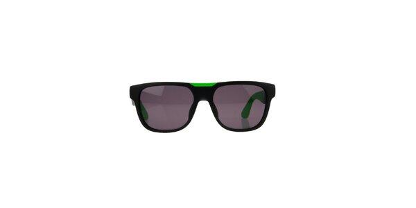 Unisex černo-zelené sluneční brýle Marc by Marc Jacobs