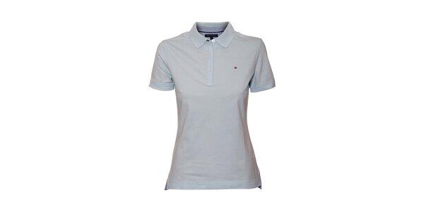 Klasické světle modré polo tričko Tommy Hilfiger