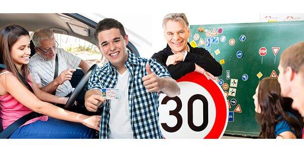 Řidičský průkaz skupiny B za 5899 Kč