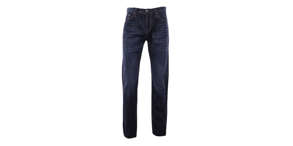 Pánské tmavě modré rovné džíny Big Star