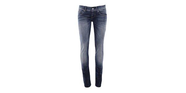 Dámské úzké džíny v modrém odstínu Big Star