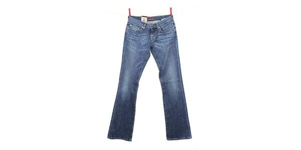 Dámské modré džíny se světlejšími koleny Big Star