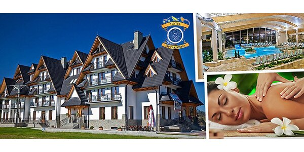 Turistika a wellness v polských Tatrách na 3 či 4 dny