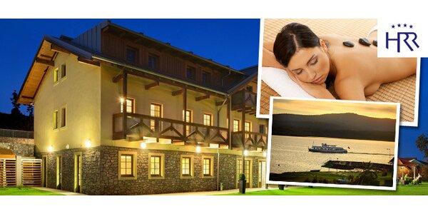 3 dny v přepychovém Hotelu Relax na břehu Lipna