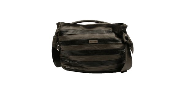 Dámská pruhovaná kabelka Pierre Cardin