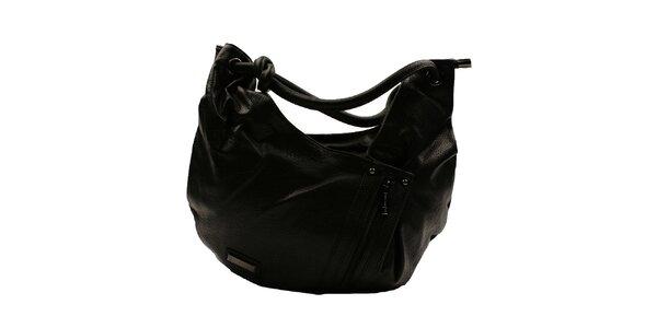 Dámská černá asymetrická kabelka Pierre Cardin