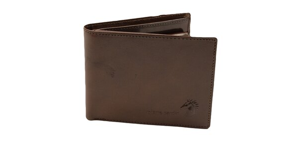Pánská hnědá peněženka Pierre Cardin