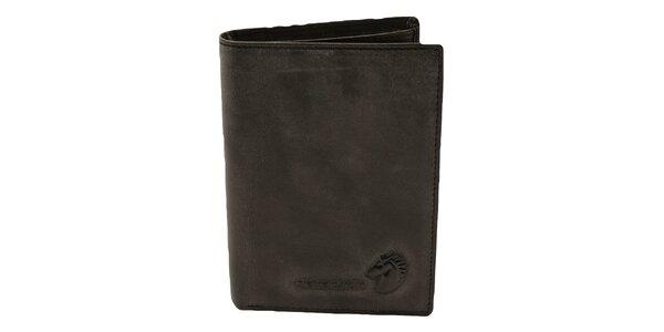 Pánská černá hladká peněženka Pierre Cardin