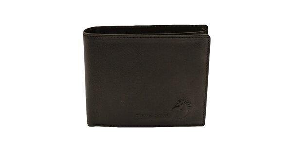 Pánská černá obdélníková peněženka Pierre Cardin