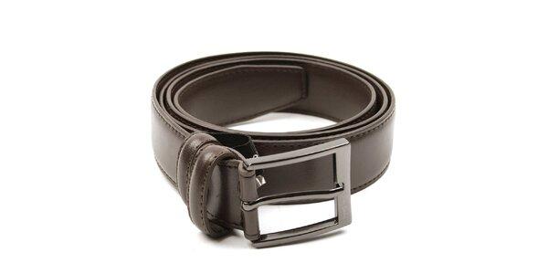 Pánský hnědý pásek Pierre Cardin
