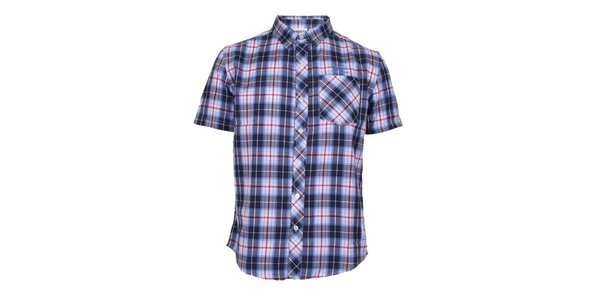 Pánská modře kostkovaná košile Varsity Team Players