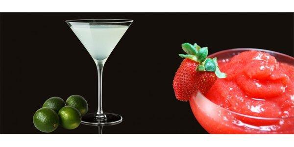 2 daiquiri koktejly dle vlastního výběru v DaiQuiri café & cocktail bar