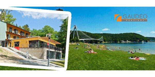 3 nebo 4 dny u Vranovské přehrady