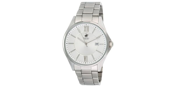 Pánské stříbrné hodinky Beverly Hills Polo Club
