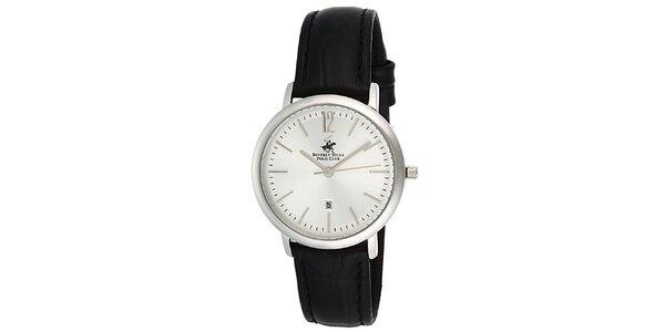 Dámské hodinky s černým řemínkem Beverly Hills Polo Club