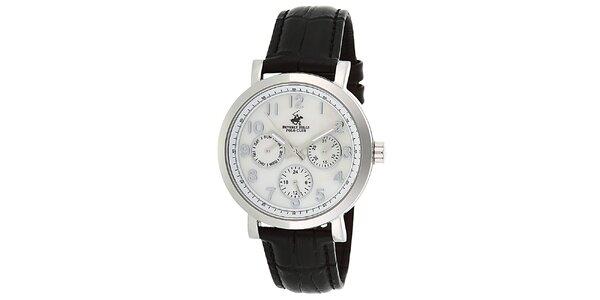 Dámské stříbrné hodinky s minutovým ciferníkem Beverly Hills Polo Club