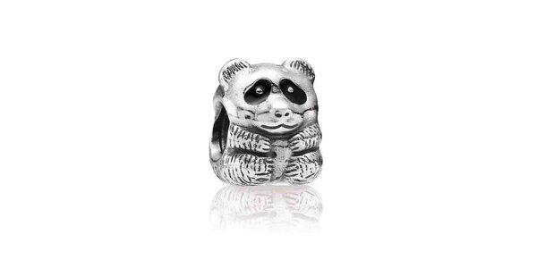 Stříbrný přívěsek Pandora melancholická panda