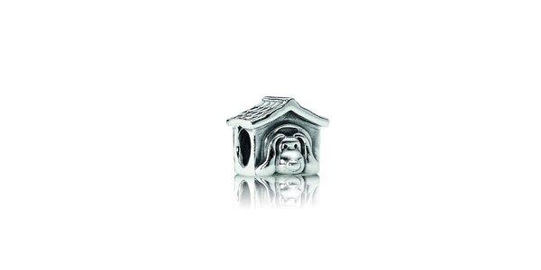 Stříbrný přívěsek Pandora psí bouda