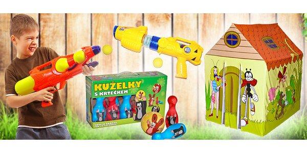 Parádní hračky na zahradu i na doma