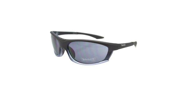 Černé sportovní brýle s černými sklíčky Timberland