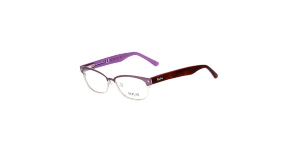 Dámské fialově tónované brýle Replay