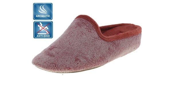 Dámské růžové voňavé pantofle Beppi