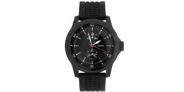 Pánské ocelové hodinky s náhradním řemínkem Guess 2d8d64282c