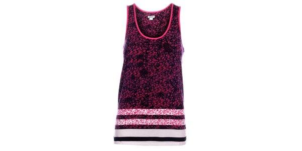 Dámská růžová noční košile DKNY s potiskem