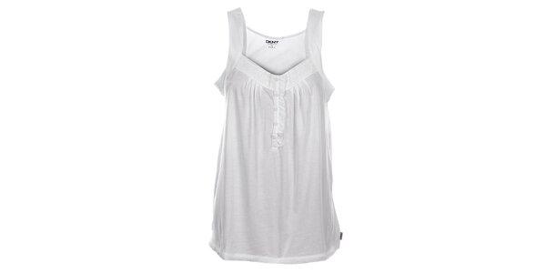 Dámská bílá noční košilka DKNY