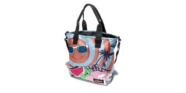 Dámská taška Eastpak s veselým letním potiskem