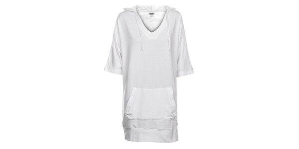 Dámská bílá mikina DKNY